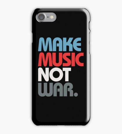 Make Music Not War (Prime) iPhone Case/Skin