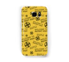 Welcome to Mutant High - Yellow Samsung Galaxy Case/Skin
