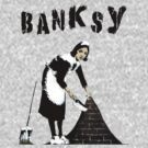 Banksy: Sweeping Under The Rug by tttechnicolors