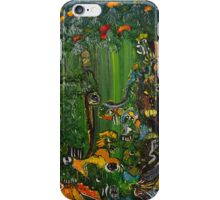Living water fall iPhone Case/Skin