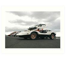 Purvis Eureka Sportscars Art Print