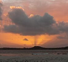 Mutton Bird Island Sunset, Southwest Tasmania by tasadam