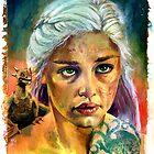 Game of Thrones: Khaleesi by kenmeyerjr