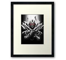 Zed - League of Legends Framed Print