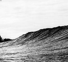 Surging through by Ben Osborne