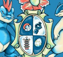 Johto Coat of Arms Sticker