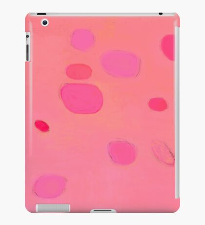 Subtle pink abstract landscape - Thinking of you iPad Case/Skin