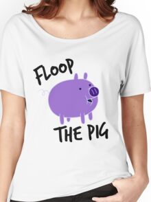 Floop the Pig Women's Relaxed Fit T-Shirt