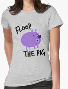 Floop the Pig Womens Fitted T-Shirt