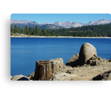 Lakeshore, Ice House Reservoir, California Canvas Print