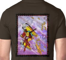 space ship invasion zapgun jetgirl Unisex T-Shirt