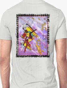 space ship invasion zapgun jetgirl T-Shirt