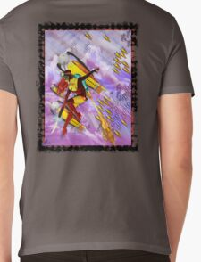 space ship invasion zapgun jetgirl Mens V-Neck T-Shirt