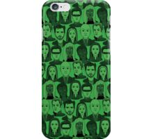 X Men Characters - Green iPhone Case/Skin