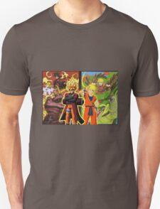 Naruto Kamesenin and Goku Sage Mode T-Shirt