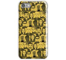 X Men Characters - Yellow iPhone Case/Skin
