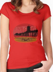 low-tide highwater alpine club Women's Fitted Scoop T-Shirt