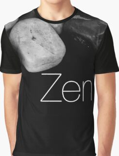 Zen Pebbles Graphic T-Shirt