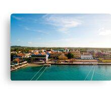 Bonaire Landscape Metal Print