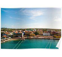 Bonaire Landscape Poster