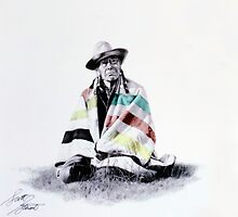 Native West Coast Indian by Al Bourassa