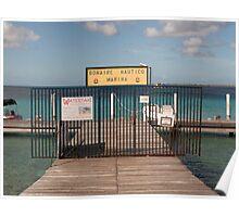 Bonaire Nautico Marina Poster