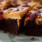 Brownie Cheescake by Alastair Creswell