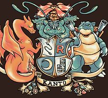 Kanto Coat of Arms by RobynHaley