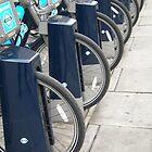London Bikes, England by Graham Geldard