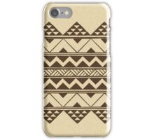 Polynesian geometric pattern iPhone Case/Skin