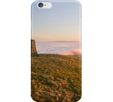 Mam Tor Trig Point iPhone Case/Skin
