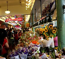 Flower Stall at Pikes by MakenzieW1