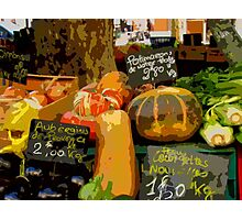 Aix-en-Provence - Assorted market vegetables Photographic Print