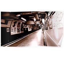 Empty Platform Poster