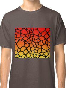 Flame Giraffe Pattern Classic T-Shirt