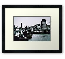 Cold day in London 1965 Framed Print