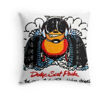 Dodge Scat Pack Throw Pillow