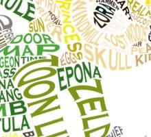 Toon Link Typography Sticker