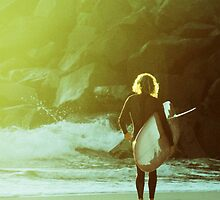 Retro Surfer- Colour by Jack Doherty