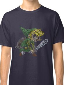 Toon Link Typography Classic T-Shirt