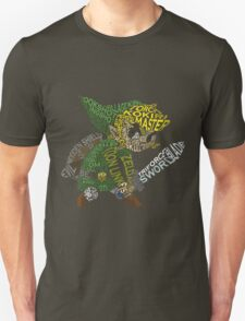 Toon Link Typography T-Shirt