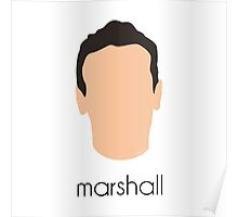 How I Met Your Mother - Marshall Headshot Poster