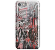 Urban New York Street Scene iPhone Case/Skin