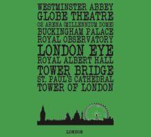 London Landmarks Kids Clothes