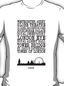 London Landmarks T-Shirt