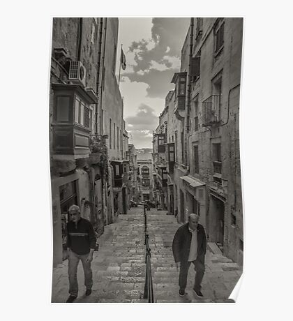 Pedestrians Poster