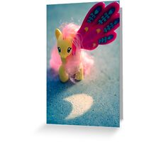 Fluttershy's Eclipse, Luna and Celestia Greeting Card