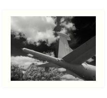 Hawker Siddeley Nimrod Art Print