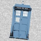 Worn Blue Tardis by drwhobubble