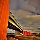 Freeway Overpass by Michael Sanders